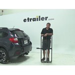 Curt 17x46 Hitch Cargo Carrier Review - 2014 Subaru XV Crosstrek