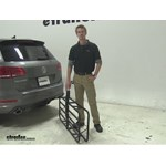 Curt 17x46 Hitch Cargo Carrier Review - 2014 Volkswagen Touareg