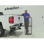 Curt 17x46 Hitch Cargo Carrier Review - 2015 Chevrolet Silverado 1500