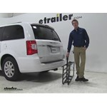 Curt 17x46 Hitch Cargo Carrier Review - 2015 Chrysler Town and Country