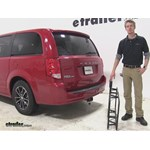 Curt 17x46 Hitch Cargo Carrier Review - 2015 Dodge Grand Caravan