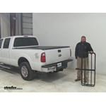 Curt 17x46 Hitch Cargo Carrier Review - 2015 Ford F-250 Super Duty