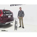 Curt 17x46 Hitch Cargo Carrier Review - 2015 Honda CR-V