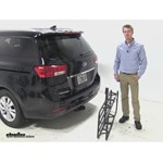 Curt 17x46 Hitch Cargo Carrier Review - 2015 Kia Sedona