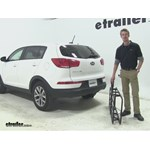 Curt 17x46 Hitch Cargo Carrier Review - 2015 Kia Sportage