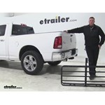 Curt 17x46 Hitch Cargo Carrier Review - 2015 Ram 1500