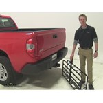 Curt 17x46 Hitch Cargo Carrier Review - 2015 Toyota Tundra