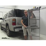 Curt 19x60 Hitch Cargo Carrier Review - 2004 Chevrolet Tahoe