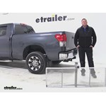 Curt 19x60 Hitch Cargo Carrier Review - 2008 Toyota Tundra