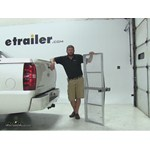 Curt 19x60 Hitch Cargo Carrier Review - 2011 Chevrolet Avalanche