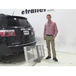 Curt 19x60 Hitch Cargo Carrier Review - 2011 GMC Acadia