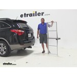 Curt 19x60 Hitch Cargo Carrier Review - 2012 Hyundai Veracruz