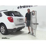 Curt 19x60 Hitch Cargo Carrier Review - 2014 Chevrolet Equinox