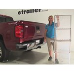 Curt 19x60 Hitch Cargo Carrier Review - 2014 Chevrolet Silverado 1500