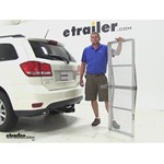 Curt 19x60 Hitch Cargo Carrier Review - 2014 Dodge Journey