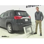 Curt 19x60 Hitch Cargo Carrier Review - 2014 GMC Terrain