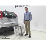 Curt 19x60 Hitch Cargo Carrier Review - 2014 Honda CR-V