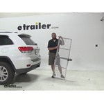 Curt 19x60 Hitch Cargo Carrier Review - 2014 Jeep Grand Cherokee