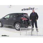 Curt 19x60 Hitch Cargo Carrier Review - 2014 Nissan Murano
