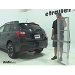 Curt 19x60 Hitch Cargo Carrier Review - 2014 Subaru XV Crosstrek