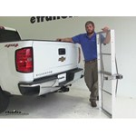 Curt 19x60 Hitch Cargo Carrier Review - 2015 Chevrolet Silverado 1500