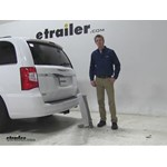 Curt 19x60 Hitch Cargo Carrier Review - 2015 Chrysler Town and Country