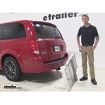 Curt 19x60 Hitch Cargo Carrier Review - 2015 Dodge Grand Caravan