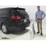 Curt 19x60 Hitch Cargo Carrier Review - 2015 Kia Sedona