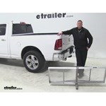 Curt 19x60 Hitch Cargo Carrier Review - 2015 Ram 1500