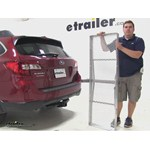 Curt 19x60 Hitch Cargo Carrier Review - 2015 Subaru Outback Wagon