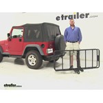 Curt 24x60 Hitch Cargo Carrier Review - 1997 Jeep Wrangler