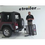 Curt 24x60 Hitch Cargo Carrier Review - 2004 Jeep Wrangler