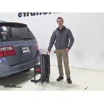 Curt 24x60 Hitch Cargo Carrier Review - 2005 Honda Odyssey