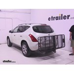 Curt 24x60 Hitch Cargo Carrier Review - 2007 Nissan Murano
