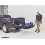 Curt 24x60 Hitch Cargo Carrier Review - 2007 Toyota Tacoma