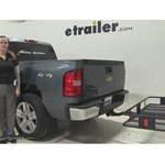 Curt 24x60 Hitch Cargo Carrier Review - 2008 Chevrolet Silverado