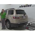 Curt 24x60 Hitch Cargo Carrier Review - 2008 GMC Acadia