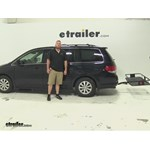 Curt 24x60 Hitch Cargo Carrier Review - 2008 Honda Odyssey