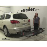 Curt 24x60 Hitch Cargo Carrier Review - 2010 Buick Enclave