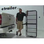 Curt 24x60 Hitch Cargo Carrier Review - 2011 Chevrolet Avalanche