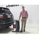Curt 24x60 Hitch Cargo Carrier Review - 2011 GMC Acadia