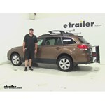 Curt 24x60 Hitch Cargo Carrier Review - 2011 Subaru Outback Wagon