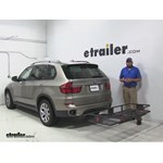 Curt 24x60 Hitch Cargo Carrier Review - 2012 BMW X5
