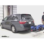 Curt 24x60 Hitch Cargo Carrier Review - 2012 Honda Odyssey