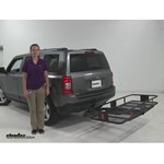 Curt 24x60 Hitch Cargo Carrier Review - 2012 Jeep Patriot