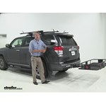 Curt 24x60 Hitch Cargo Carrier Review - 2012 Toyota 4Runner