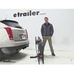 Curt 24x60 Hitch Cargo Carrier Review - 2013 Cadillac SRX