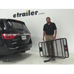 Curt 24x60 Hitch Cargo Carrier Review - 2013 Honda Odyssey
