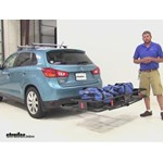 Curt 24x60 Hitch Cargo Carrier Review - 2013 Mitsubishi Outlander Sport