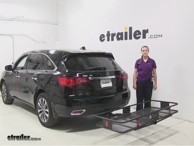 Curt 24x60 Hitch Cargo Carrier Review 2017 Acura Mdx Video Etrailer